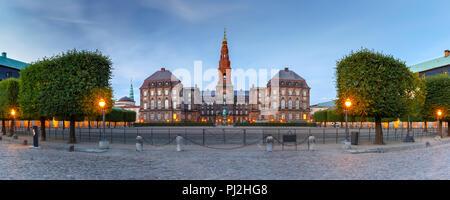Palacio de Christiansborg en Copenhague, Dinamarca