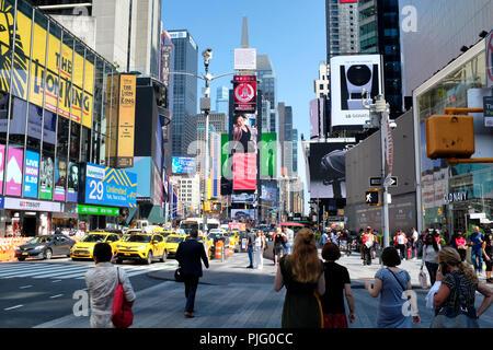 Times Square en la Ciudad de Nueva York