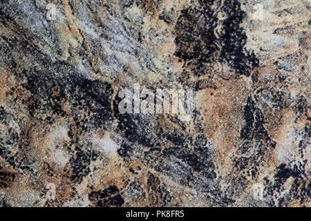 Roca de mármol cerca de la superficie. Piedra de granito natural elemento de diseño. Recurso gráfico de material de piedra.