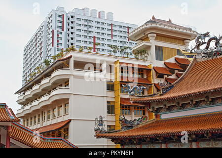 Budista Kong Meng San Phor Kark Véase Monasterio, Bright Hill Road, Singapore, Asia