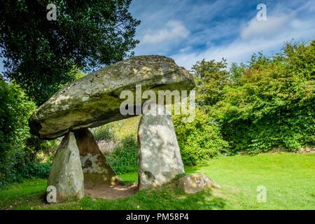 Carreg Coetan cámara mortuoria, Newport, Pembrokeshire (Gales)