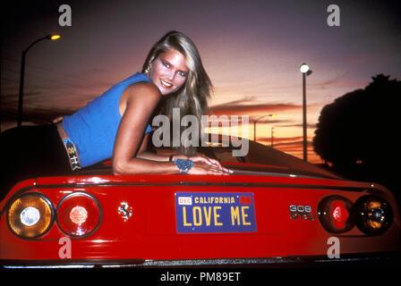"""Studio publicidad aún del """"National Lampoon's Vacation"""" Christie Brinkley © 1983 Todos Los Derechos Reservados Archivo Warner referencia # 31708151THA sólo para uso editorial"""