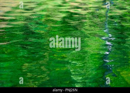 El agua de fondo o textura. Colorido reflexiones. Juego de luces y sombras