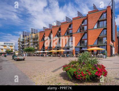 V.E.S.P.A. Restaurante en el barrio de Västra Hamnen innovadoras (Western Harbour), Scania en Malmö, Suecia