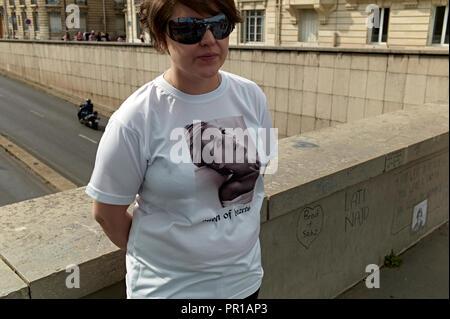Pont de l'Alma túnel en París, Francia. Fueron Diana, Princesa de Gales, fue involucrado en un accidente de coche fatal.