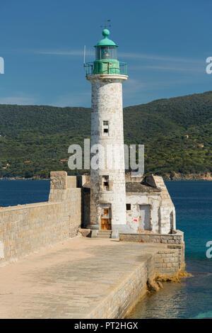 Faro de Propriano, Corse du Sud, Córcega, Francia