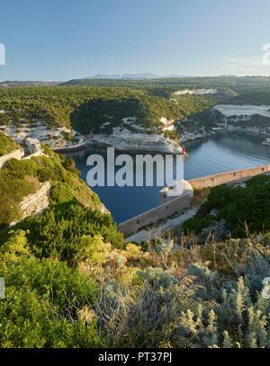Bahía de Bonifacio, Corse du Sud, Córcega, Francia