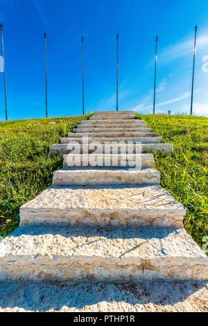 Italia Veneto Monte Grappa Monte Tomba Primera Guerra Mundial