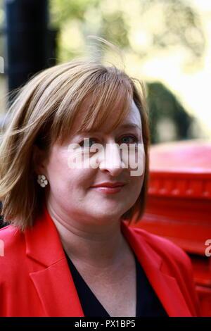 Katie Perrior en Westminster, Londres, Reino Unido. El 18 de octubre de 2018. Foto de stock