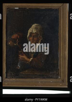 - Buveuse anonyme - Musée d'art et d'histoire de Saint-Brieuc, DOC 106.