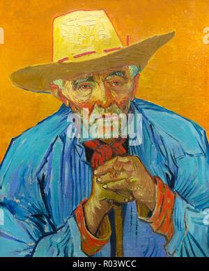 Retrato de paciencia Escalier, Vincent van Gogh, 1888, Kunsthaus de Zurich, Zurich, Suiza, Europa