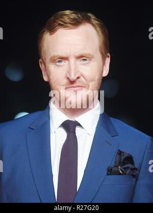 62ª edición del Festival de Cine de Londres - El Rey Outllaw - Premiere con: Tony Curran donde: Londres, Reino Unido cuando: 17 Oct 2018 Crédito: WENN.com Foto de stock