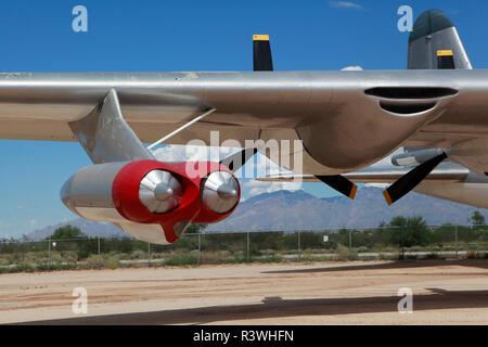 Convair B 36 G Bombardero pacificador en el Pima Air and Space Museum en Tucson, Arizona.