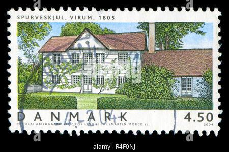 Sello de Dinamarca en las casas danesas II serie publicada en 2004