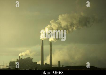 La contaminación del aire de la planta de procesamiento