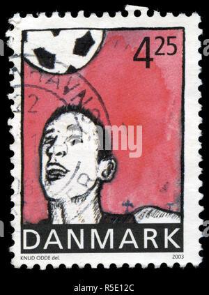 Sello de Dinamarca en la serie deportiva publicado en 2003