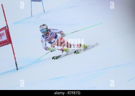 08 de diciembre 2018, Val d'Isère, Francia. Roland Leitinger de Austria de esquí slalom gigante de hombres Audi FIS Alpine Ski World Cup 2019 Deportes Deportes de invierno