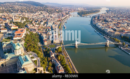 Castillo de Buda, Budavari Palota, Paisaje Urbano, Budapest, Hungría