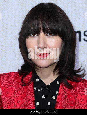 "HOLLYWOOD, LOS ANGELES, CA, EE.UU. - 24 de octubre: Karen O en el Los Angeles estreno de 'Suspiria Amazon Studio's"" que se celebró en el ArcLight Cinerama Dome el 24 de octubre de 2018, en Hollywood, Los Angeles, California, Estados Unidos. (Foto por Xavier Collin/Image Press Agency) Foto de stock"