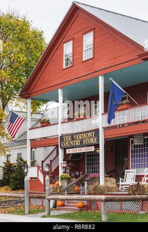 Estados Unidos, Nueva Inglaterra, Vermont, Weston, el Vermont Country Store, exterior