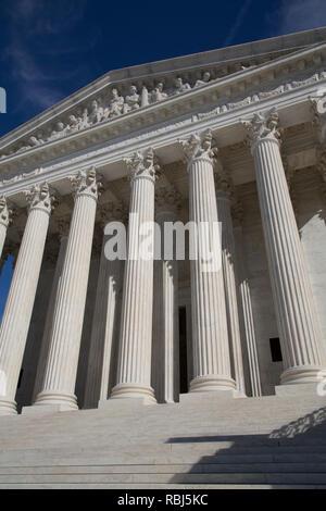 Edificio de la Corte Suprema de los Estados Unidos, Washington D.C., EE.UU.