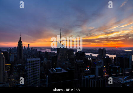 El Empire State Building, Nueva York, EE.UU.