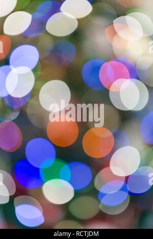 Colorido abstracto , fuera de foco círculos de luz