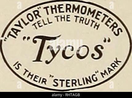 """. Mejores frutos. Fruit-cultura. No hay peligro de heladas a los cultivos y frutos si tiene un """"Tyco*"""" en el Termómetro con alarma- calado. Ahorra el gasto y el trabajo de tener su calefacción o """"manchas"""" del dispositivo funcionando a veces innecesarias, y le advierte con certeza de acercarse a las heladas. Es indispensable para la orchardist y cultivador de fruta. Se paga por sí mismo cada año si no hay heladas, y puede pagar por sí mismo más de cien veces, dando la """"escarcha"""" de alarma cuando el peligro es menos esperado. Un 'La alarma de los anillos THEBMOMETER rycos advertencia en sus oídos justo en el"""