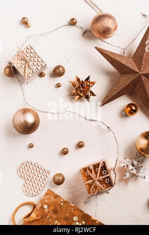 Decoración de Navidad laicos plana
