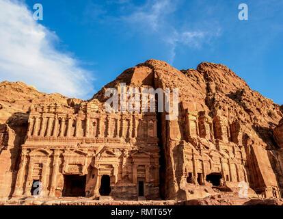 Palacio y tumbas Corintio, Petra, la Gobernación de Ma'an, Jordania