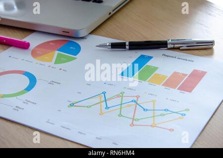 Documentos comerciales, gráficos de escritorio y equipos