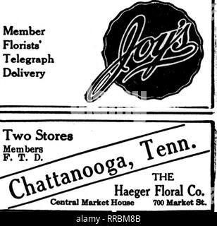 ". Floristerías' Review [microforma]. La floricultura. Charlotte, N. C. ^^^jity Scholtz, ""°"" S^c""^^^^' Entrega Teleeraph floristas miembro Ass'n. CHARLOTTE, N. C. Y ALREDEDORES El Flower Shop 203 N. Calle TRYCN Estados F. T. D. ""Au sobre North Carolina"" Piamonte Flower Shop, Inc. ""todo en flores"" La Sra. N. W. Cobb, Prop. Durham, N. C. Durham, N. C l-J. FALLON CO. '•'^^^j.Tg DURHAM DURHAM, N. C. Co. HIBBERD Floral titular de Greensboro, N. C. VAN LINDLEY CO. Wilson, N. C ^r'^'jy. STARR, el Borist Raleigh, N. C. McCarron Floral Co., 12 East Street Raleigh Hargett, n"
