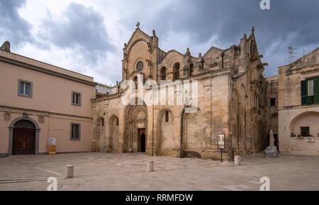 El Románico Parrocchia di San Giovanni Battista iglesia parroquial (chiesa). San Juan el Bautista. Matera, Basilicata, Apulia, Italia