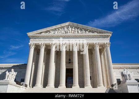 Edificio de la Corte Suprema de los Estados Unidos, Washington DC, Estados Unidos de América