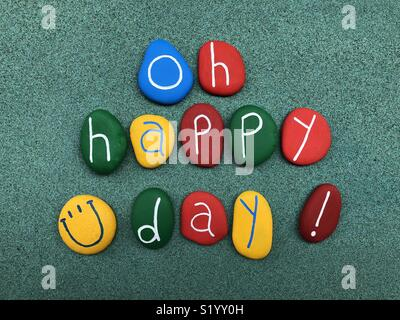 Oh Happy Day ! Foto de stock