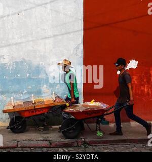 Viajar tuerca vendedores en Antigua, Guatemala