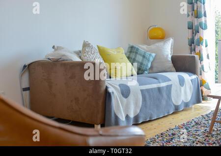 decoración fresca de la sala de estar Fresco Ventilado Y Abrir La Sensacin De Sala De Estar Con