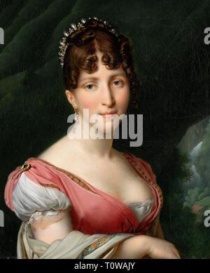 Retrato de Hortense de Beauharnais, Reina de Holanda - Anne-Louis Girodet de Roussy-Trioson, circa 1805