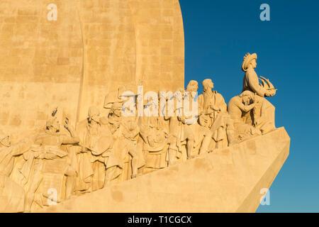 El Monumento a los Descubrimientos, el Padrão dos Descobrimentos, barrio de Belem, Lisboa, Portugal