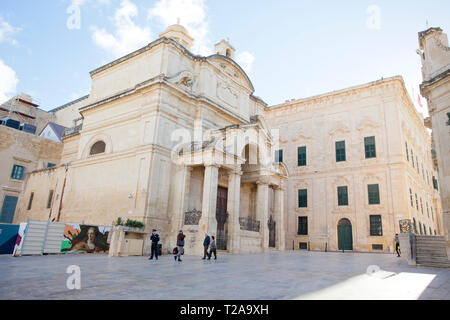 Iglesia de Santa Catalina de Italia en Valletta, Malta