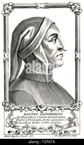 DANTE ALIGHIERI (c 1265-1321) poeta italiano