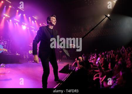 Copenhague, Dinamarca - 23 de septiembre de 2018. Los ingleses el cantante, compositor y músico Rick Astley realiza un concierto en vivo en Vega en Copenhague. (Crédito de la Foto: Foto - Bo Kallberg Gonzales).