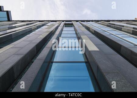 La arquitectura, de la Universidad de Leipzig, Sajonia, Alemania, Europa