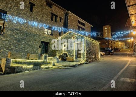 Molino de trigo en el centro urbano de Canillo, Andorra