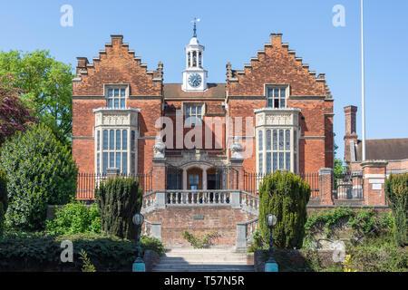 Viejo discurso room Galería Harrow School, Harrow-on-the-Hill, London Borough of Harrow, Greater London, England, Reino Unido