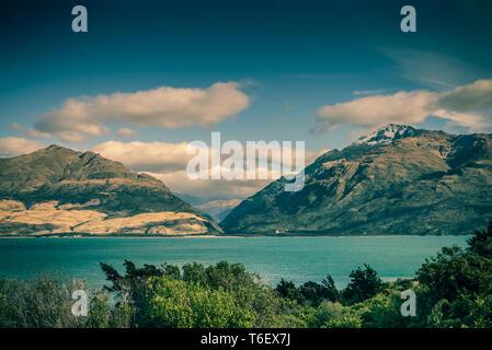 El Lago Wanaka, Isla del Sur, Nueva Zelanda