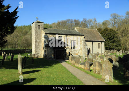 San Gregorio Minster, Kirbymoorside, Kirkdale, North Yorkshire, Inglaterra, Reino Unido Foto de stock