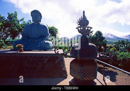 Gran Buda en misión Jodo,Lahaina, Maui
