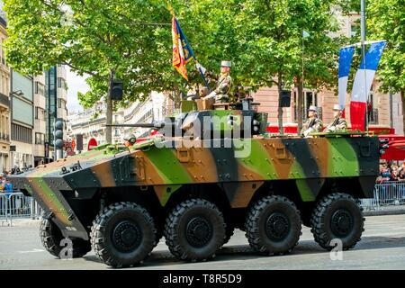 Francia, Paris, el desfile militar del 14 de julio de 2017