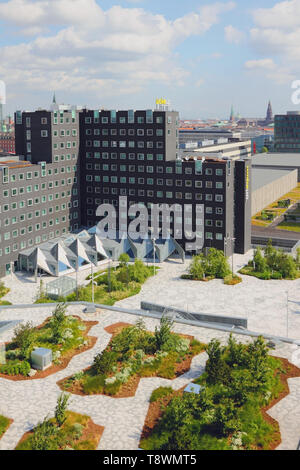 Copenhague, Dinamarca - 09 Jun, 2912: hotel moderno en la ciudad